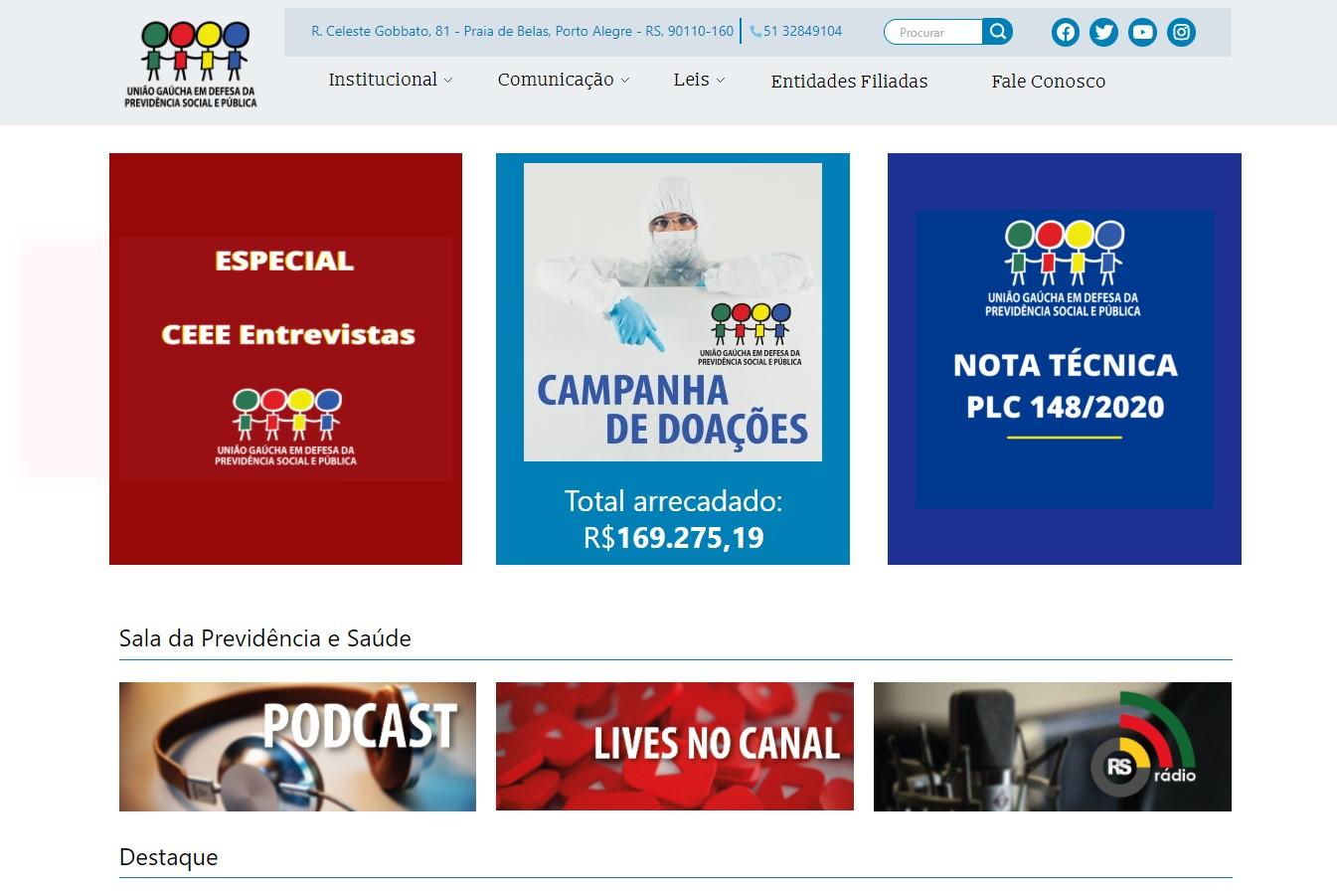 União Gaúcha em Defesa da Previdência Social e Pública